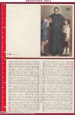 1308 Santino Holy Card Saint John Bosco Pocket Calendar 1962