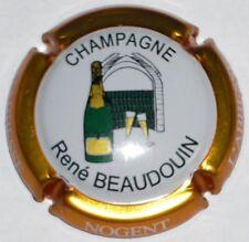 Capsule de Champagne: New !!! BEAUDOIN René ,  contour cuivre