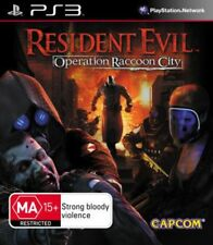 Resident Evil Operation Raccoon City PlayStation 3 Game USED