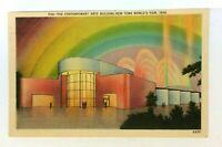New York City NY New York Worlds Fair 1939 Contemporary Arts Building Postcard