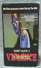 RZA Bobby Digital 'Domestic Violence' VHS Short Film Wu-Tang Clan, 1999 RARE