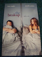 THE BREAK-UP - MOVIE POSTER WITH JENNIFER ANISTON & VINCE VAUGHN