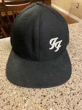 Foo Fighters Classic Ff Logo Snapback The Classic's Hat Black Free Shipping