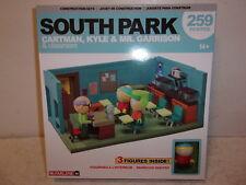 South Park Cartman, Kyle & Mr. Garrison & Classroom Construction Set - 259 Pcs.