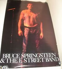 ROLLED 1986 Winterland Posters BRUCE SPRINGSTEEN POSTER NEAL PRESTON PHOTO