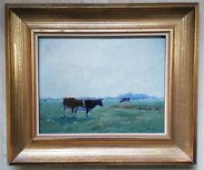 Jacob (Willem) van Rossum (1881 - 1963), Landschaft mit Kühen, Den Haag