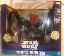 STAR WARS RADIO CONTROL HAILFIRE DROID THE CLONE WARS NEW IN BOX MISSILE LAUNCH