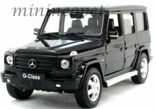 WELLY 24012 MERCEDES BENZ G CLASS SUV 1/24 - 1/27 DIECAST MODEL CAR BLACK