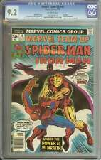 MARVEL TEAM-UP #49 CGC 9.2 OW PAGES
