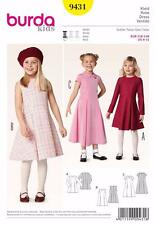 BURDA KIDS SEWING PATTERN  GIRLS DRESS SIZE 6 - 11 9431