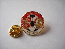 a1 ARSENAL - SPARTAK MOSCOW cup uefa europa league 1983 spilla football pins