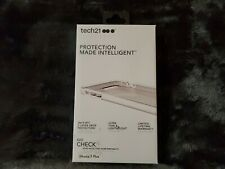 NEW Tech21 - EVO CHECK Case for iPhone 6 / 6s / 7 / 8 PLUS MODELS White/Clear