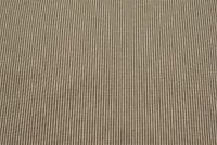 "Upholstery Drapery Cotton Ticking Tan Beige Pinstripe Fabric 55""W Decorative"