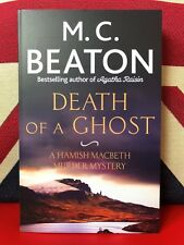 Death of a Ghost by M. C. Beaton (Paperback 2018) Hamish MacBeth No 32. New Book
