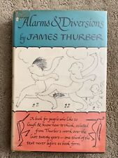 Alarms and Diversions by James Thurber First Edition Hardcover