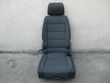 Rücksitz hinten rechts VW Touran Sitz Ausstattung Stoff ISOFIX anthrazit