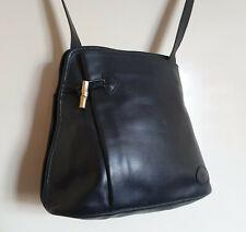 Vintage Longchamp Roseau Serial No: 51793 Genuine Leather Handbag Shoulder Bag