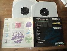 GREENPEACE / RAINBOW WARRIOR (1989) 2 lp U2, DIRE STRAITS, LOU REED, R.E.M,....