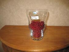BOHEMIA *NEW* Vase Happy Day H.20cm vide empty (sans les perles)