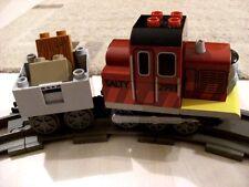 Lego Duplo Salty mit Anhänger (3352) mit zusätzlichen Schienen