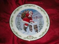 Lenox Annual International Victorian Santa Plate Collection Santa Claus 1995