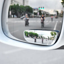 2x Universal Car Auto 360° Wide Angle Convex Rear Side View Blind Spot Mirror