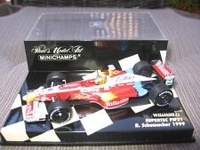 F1 Williams Schumacher SUPERTEC FW21 1999 1:43 MINICHAMPS OVP!
