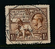 GB 1924 WEMBLEY EXHIBITION LARGE HANDSTAMP 27th MAY on SG431