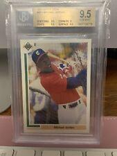 Michael Jordan 1991 Upper Deck RC BGS 9.5 #SP1 Baseball Rookie UD