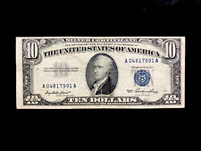 USA (P422) 10 Dollars 1953 VF+ - Silver Certificate