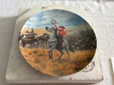 Edwin M. Knowles I Cain't Say No Oklahoma Numbered Plate Signed By Artist