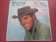 ELVIS PRESLEY - FLAMING STAR - OZ 45 rpm  RECORD