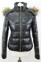 ZARA WOMAN Black Down Insulated Jacket size S