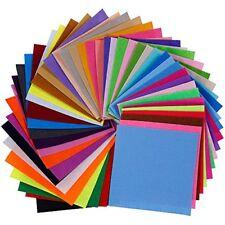 Lictin 45pcs Felt Fabric Sheets, Textile Fabrics DIY Craftwork Felt Crafts, Asso