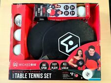 Wicked Big Sports Giant Table Tennis Paddles and Balls! Open Box New!