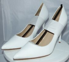 Pleaser Classique-20  Closed-Toe Heels in White, Uk 7 with Free P&P to Uk Main