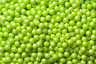 SweetWorks Candy Pearls Shimmer Lime Green 2lb Bag!