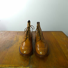 Tricker's Ladies Accorn Antique Brouge Boot Size UK 8 New in Box
