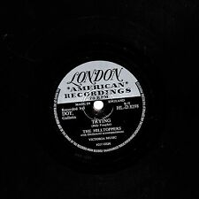 """1956 UK #30  THE HILLTOPPERS 78 """" TRYING / D-A-R-L-I-N-G """" UK LONDON HLD 8381 E+"""