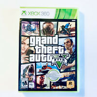 Grand Theft Auto V 5 (Xbox 360) Brand New Factory Sealed Rockstar Games GTA 5