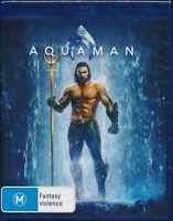 Aquaman Blu-Ray BRAND NEW Region B