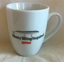 Rapala Fishing Lure Heavy Lifting Required Ceramic Coffee Mug