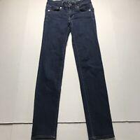 American Eagle Dark Wash Skinny Jeans Size 00 a1315