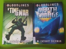 Bloodlines ; A Time For Change , Depth Charge book bundle Ex library