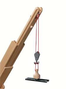 Fagus Hebe-Magnet 30.62 für Mobilkran Fagus aus Buchenholz