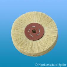 1x Fibrebürste 125mm zum Vorpolieren von Stahl und Alu