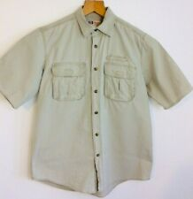 """Faded Glory heavy cotton shirt size medium workwear over-shirt pit to pit 22"""""""