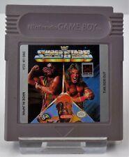 Nintendo Game Boy GB-Magnetic SOCCER + WWF Superstars 2