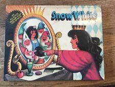 Snow White Kubasta Czech Prague Atria 1971-1978 Treasure Hour Pop-Up Book