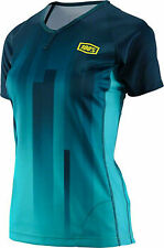 100% Airmatic Women's MTB Jersey: Prism Forest MD